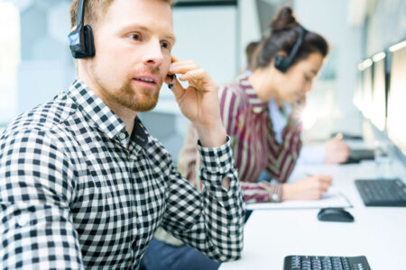 Support och kundtjänst telefonist