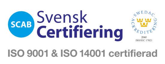Svensk Certifiering ISO9001 - ISO14001